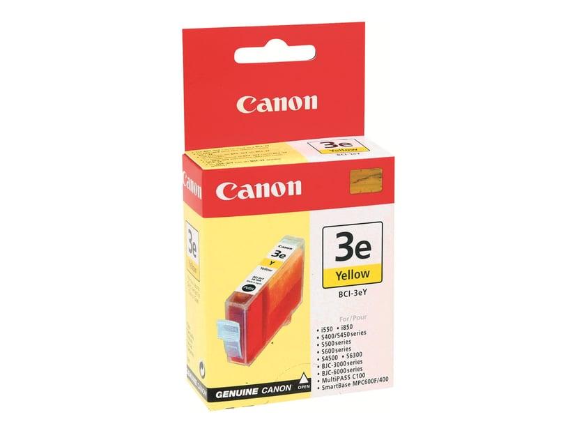 Canon Blekk Gul BCI-3EY BJC 3000/6000/I550/S400