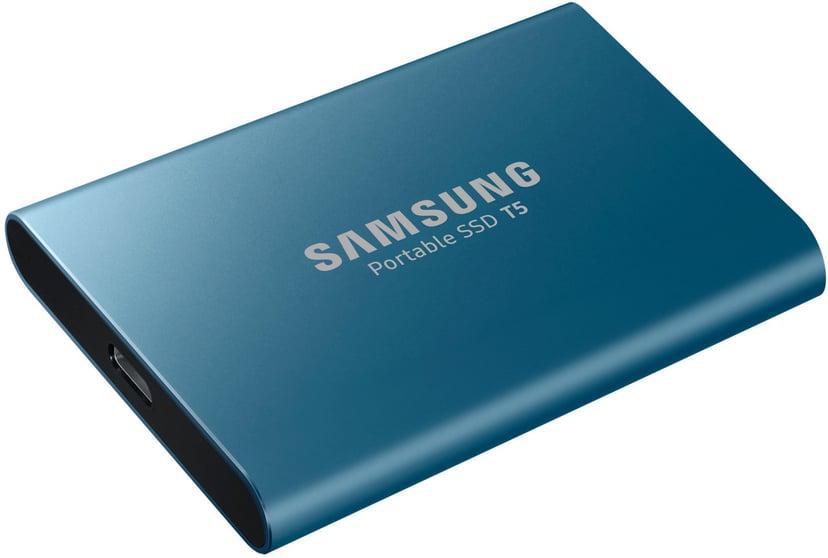 Samsung Portable SSD T5 0.5TB Blå