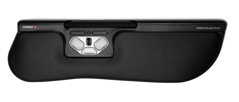 Contour Design Rollermouse Pro3 Plus Svart Rullmus Kabelansluten 2,400dpi