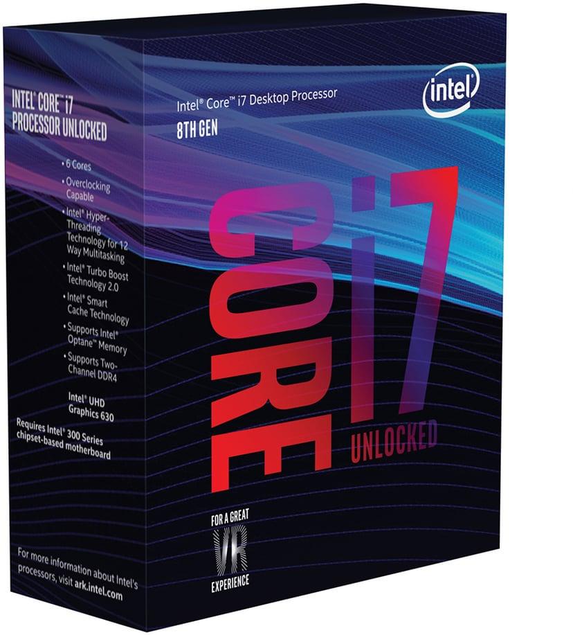 Intel Core i7 8700K 3.7GHz LGA1151 Socket Prosessor