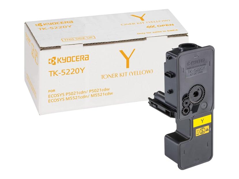 Kyocera Toner Gul TK-5220M 1.2K - M5521/P5021