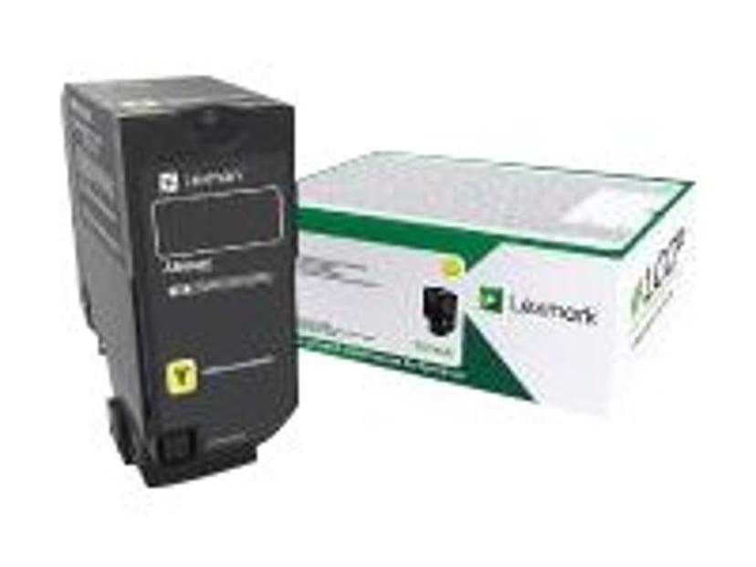 Lexmark Toner Gul 16K - Cx725 Return