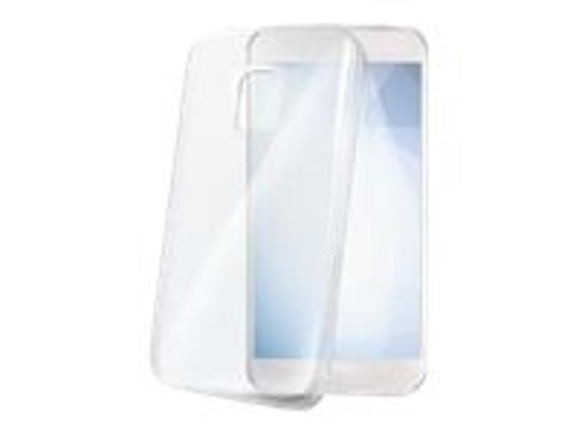 Celly GELSKIN654 baksidedeksel for mobiltelefon Samsung Galaxy Xcover 4/4s Gjennomsiktig
