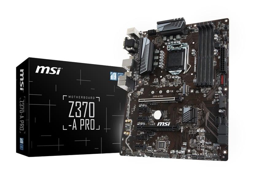 MSI Z370-A Pro ATX Hovedkort