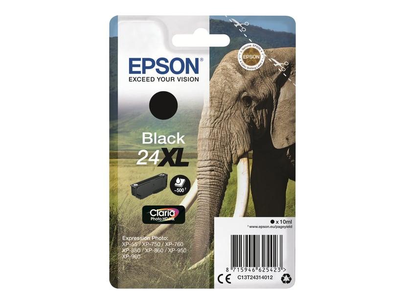 Epson Blekk Svart 24XL - XP-750/XP-850/XP-950 Blister