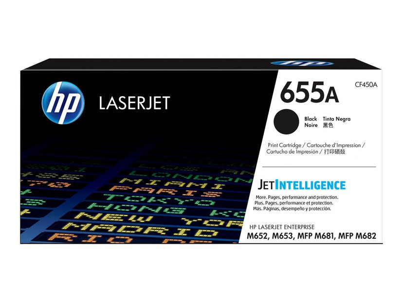 HP Toner Svart 655A - CF450A