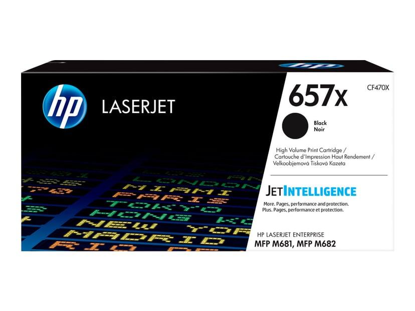 HP Toner Svart 657X - CF470X