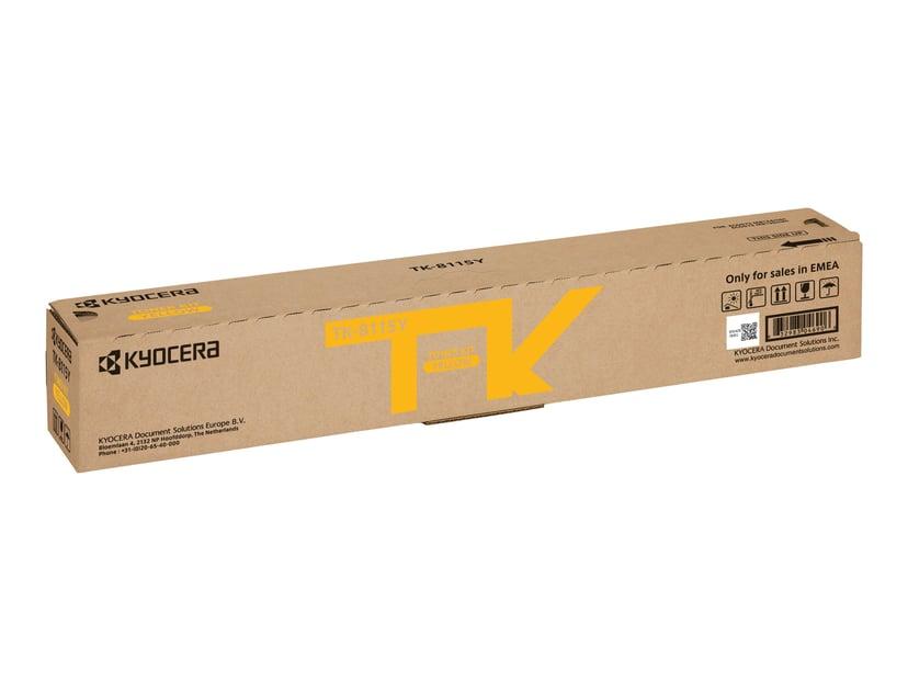 Kyocera Toner Gul Tk-8115Y 6K - M8124/M8130