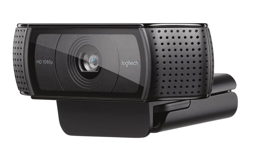 Logitech HD Pro Webcam C920 1920 x 1080 Nettkamera Svart