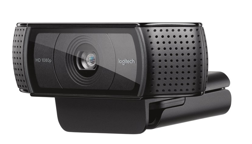 Logitech HD Pro Webcam C920 1920 x 1080 Webcamera Zwart
