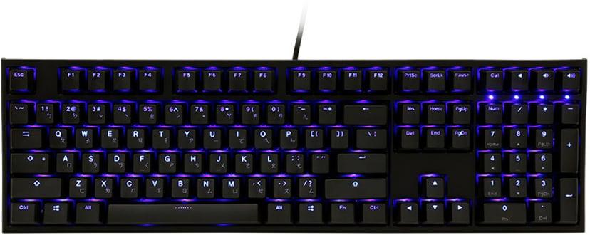 Ducky One 2 Backlit Kablet Tastatur Nordisk Svart