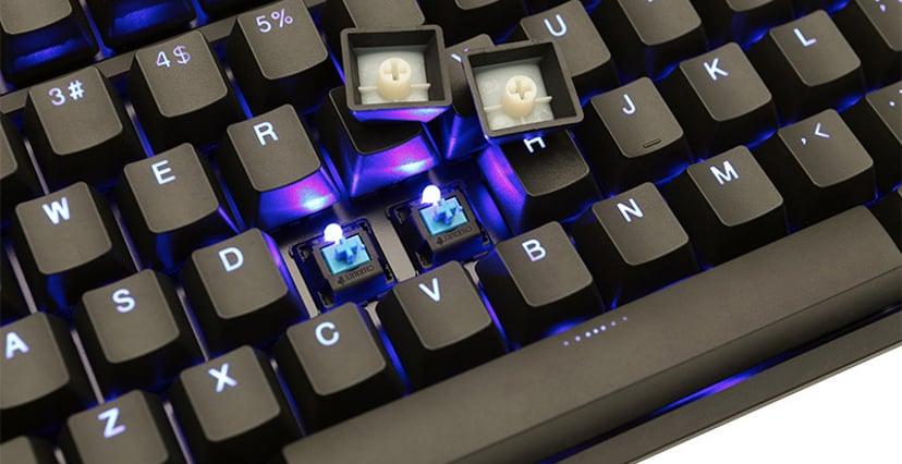 Ducky One 2 Backlit Kabling Tastatur Nordisk Sort