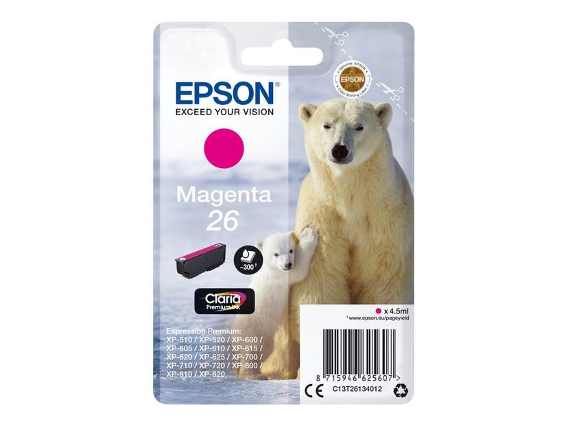 Epson Bläck Magenta 26 Claria Premium