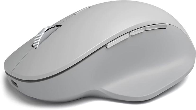Microsoft Surface Precision Mouse Mus Kabelansluten, Trådlös Grå