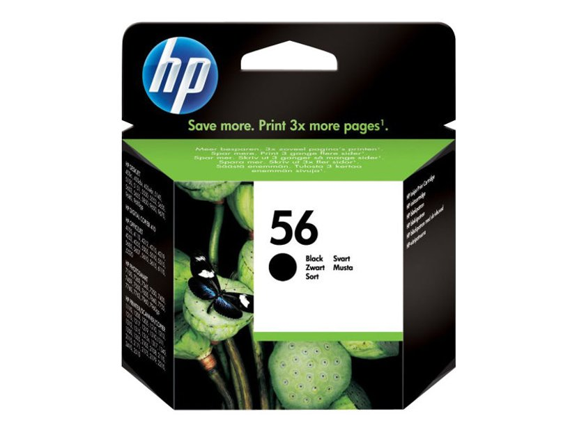HP Muste Musta No.56 - DJ 5550