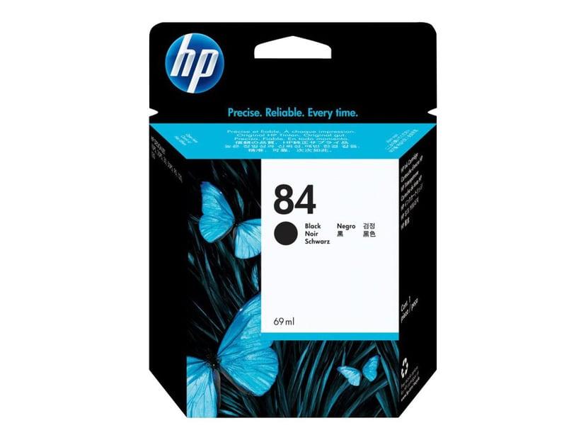 HP Blekk Svart No.84 - DNJ 10PS/20PS/50PS/130