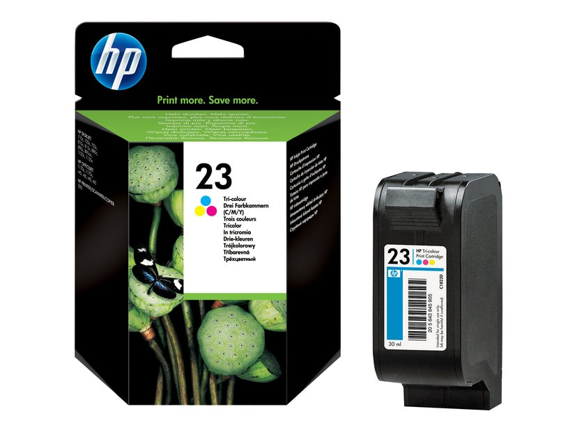 HP Muste Väri No.23 DJ 720/815/880/890/895/1120