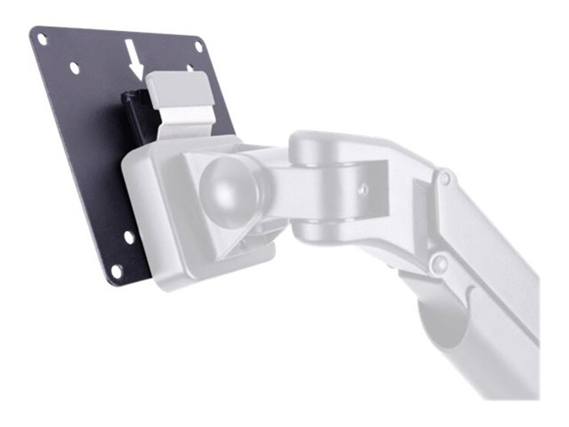 Multibrackets VESA 75 100 Quick Release Plate Svart