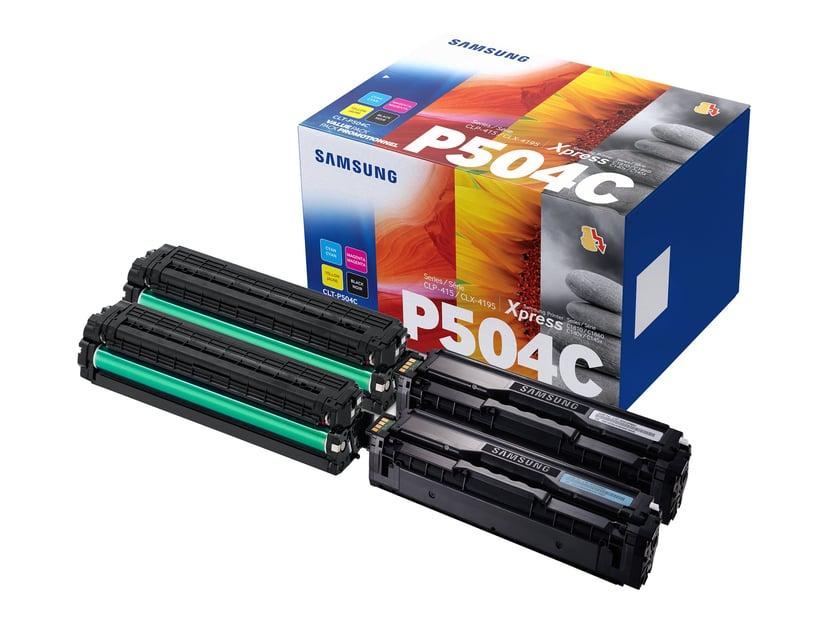 HP Samsung Toner Rainbow Kit (B/C/M/Y) CLT-P504C