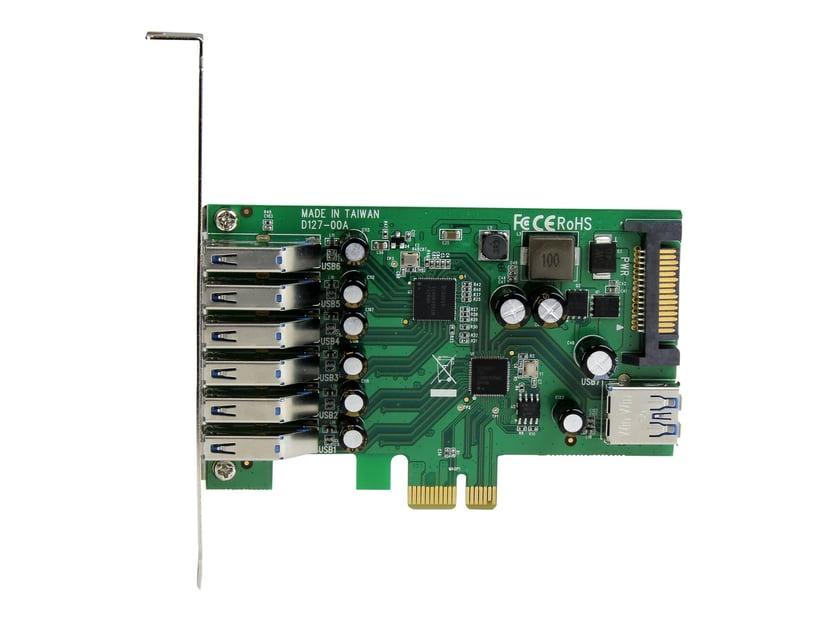 Startech PCI Express USB 3.0-kort med 7 portar