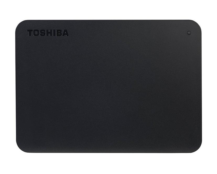 Toshiba Canvio Basics 1TB Svart