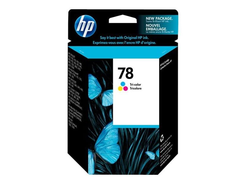 HP Bläck Färg No.78, DJ 9XX/12XX/G-SER/V40 19ml