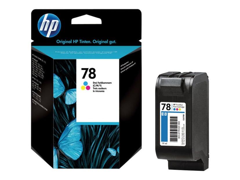 HP Muste Väri No.78, DJ 9XX/12XX/G-SER/V40 19ml