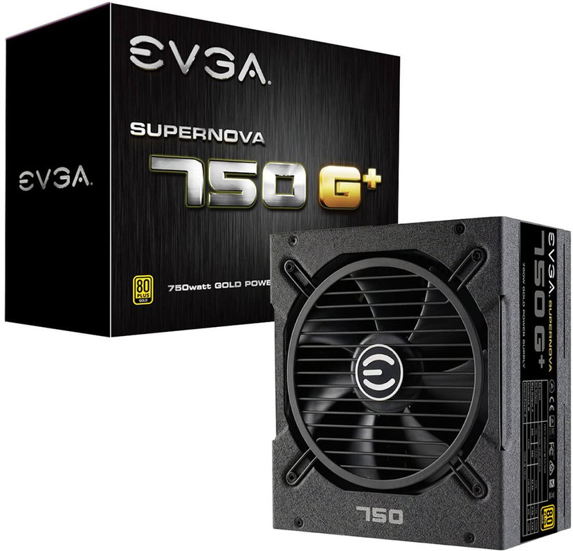 EVGA SuperNOVA G1+ 750W 80 PLUS Gold