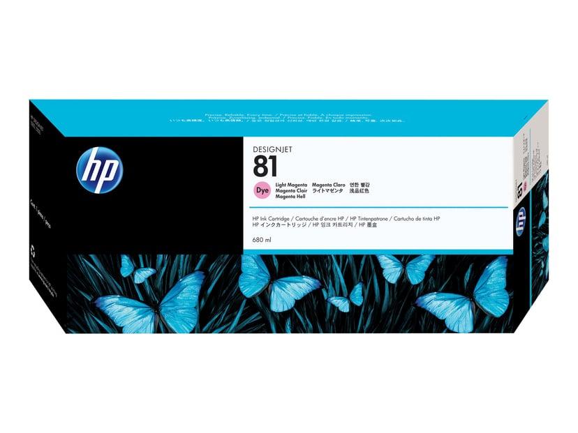 HP Blekk Ljus Magenta No.81 DJ 5000/5500