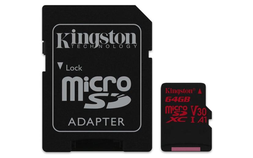 Kingston Canvas React 64GB mikroSDXC UHS-I minneskort