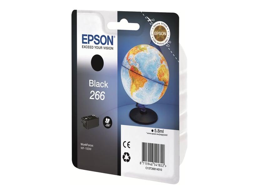 Epson Blekk Svart 266 - WF-100W #Köp