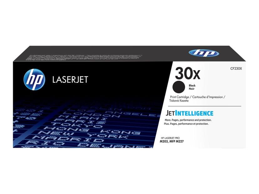 HP Toner Svart 30X 3.5K - CF230X #Köp