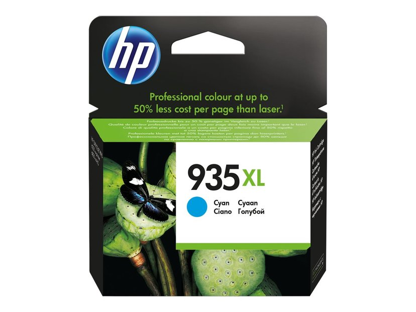 HP Blekk Cyan No.935XL #Köp