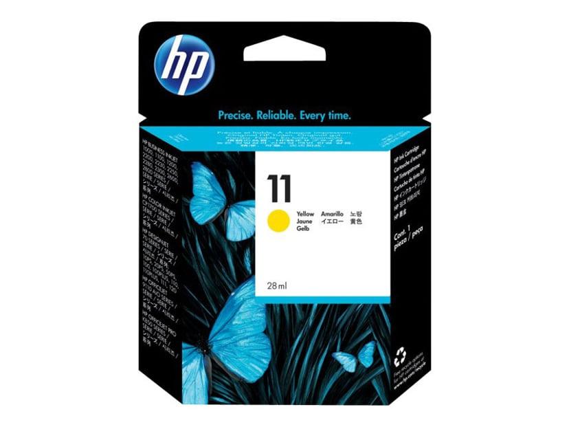 HP Blekk Gul No.11 - BI2200/2600/CP1700