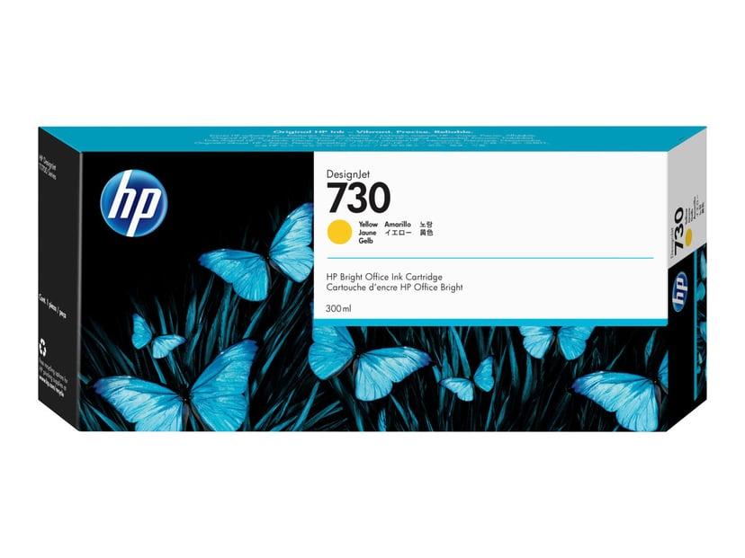 HP Blekk Gul 730 300ml - DJ T1700