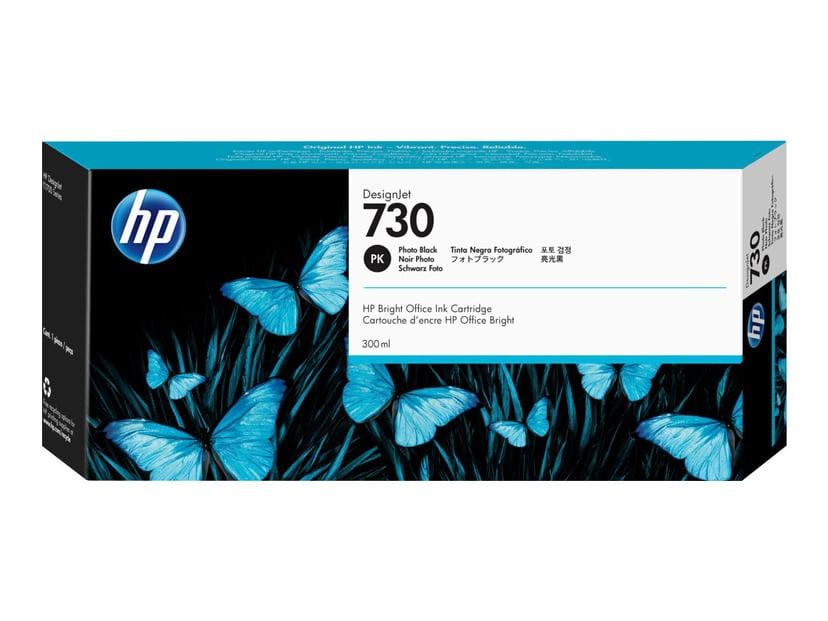 HP Inkt Foto Zwart 730 300ml - DJ T1700