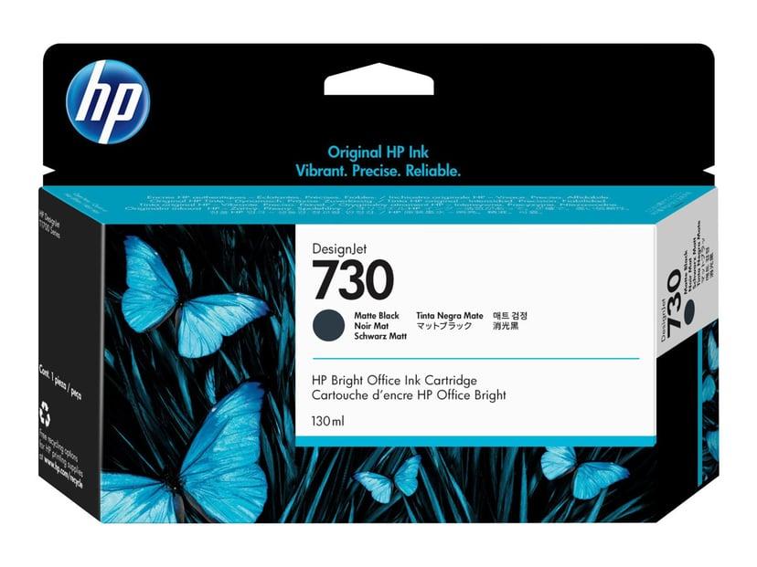 HP Blekk Matt Svart 730 130ml - DJ T1700