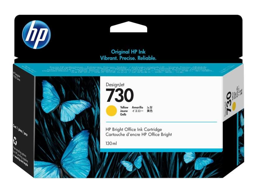 HP Blekk Gul 730 130ml - DJ T1700