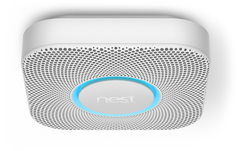 Google Nest Protect 2Nd Gen Smoke & Co Sensor Wireless No/DK-Model