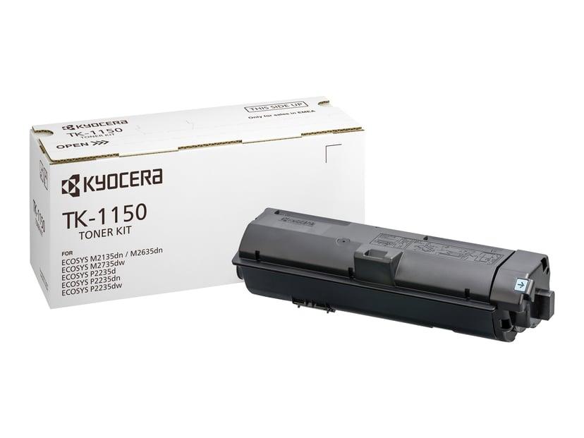 Kyocera Toner Svart TK-1150 3K - M2135/M2635/P2235