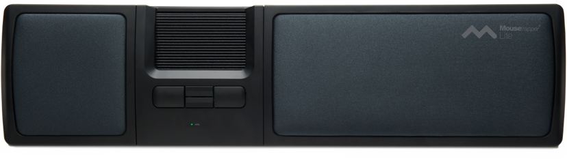 Mousetrapper Lite 1,500dpi Mousetrapper-kontrolmåtte Kabling Grå