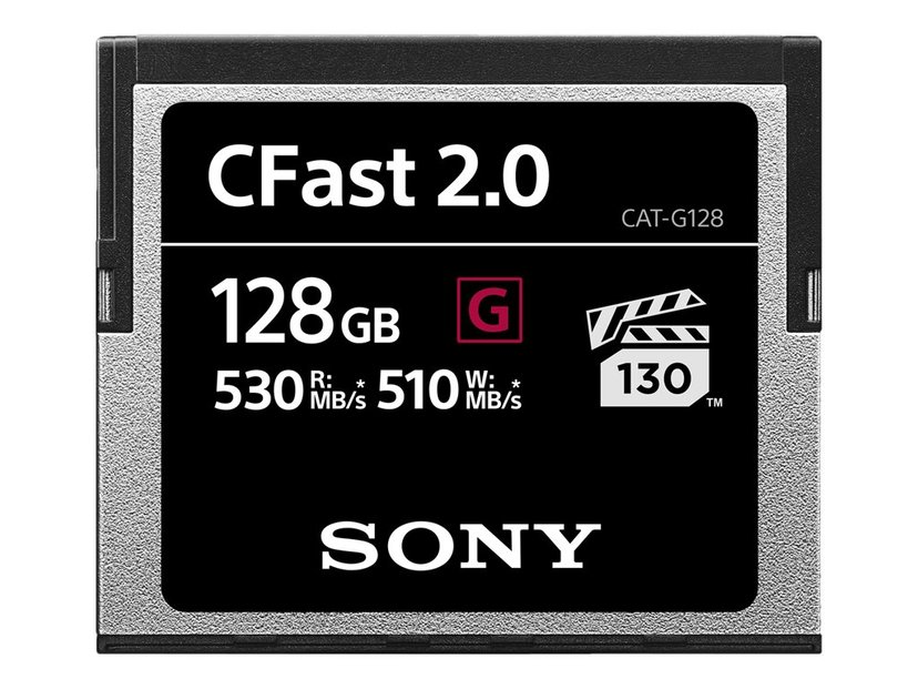 Sony G-Series CAT-G128-R CFast 2.0 Card