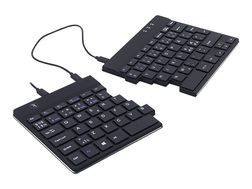 R-Go Tools Split Ergonomic Tastatur Kablet Nordisk Svart