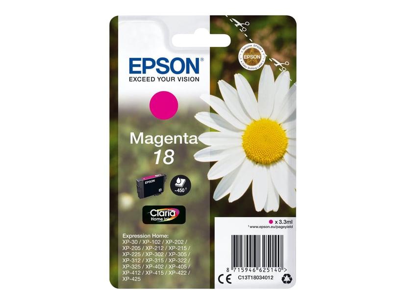 Epson Bläck Magenta T1803 - XP-302