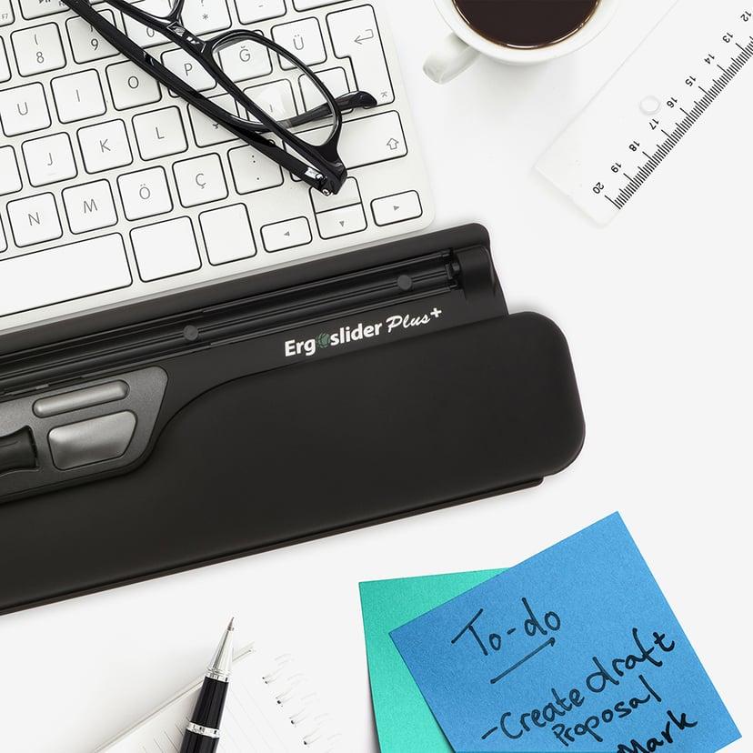 Kondator Ergoslider Plus+ USB Black Svart Kabelansluten 800dpi