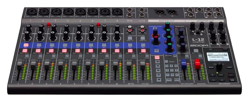 Zoom Livetrak L-12 Mixer