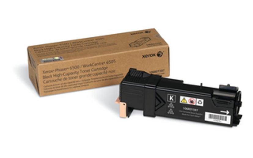 Xerox Värikasetti Musta HC 3k - Phaser 6500/WC 6505