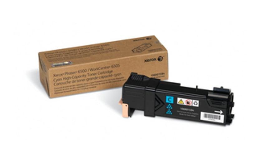 Xerox Värikasetti Syaani HC 2,5k - Phaser 6500/WC 6505