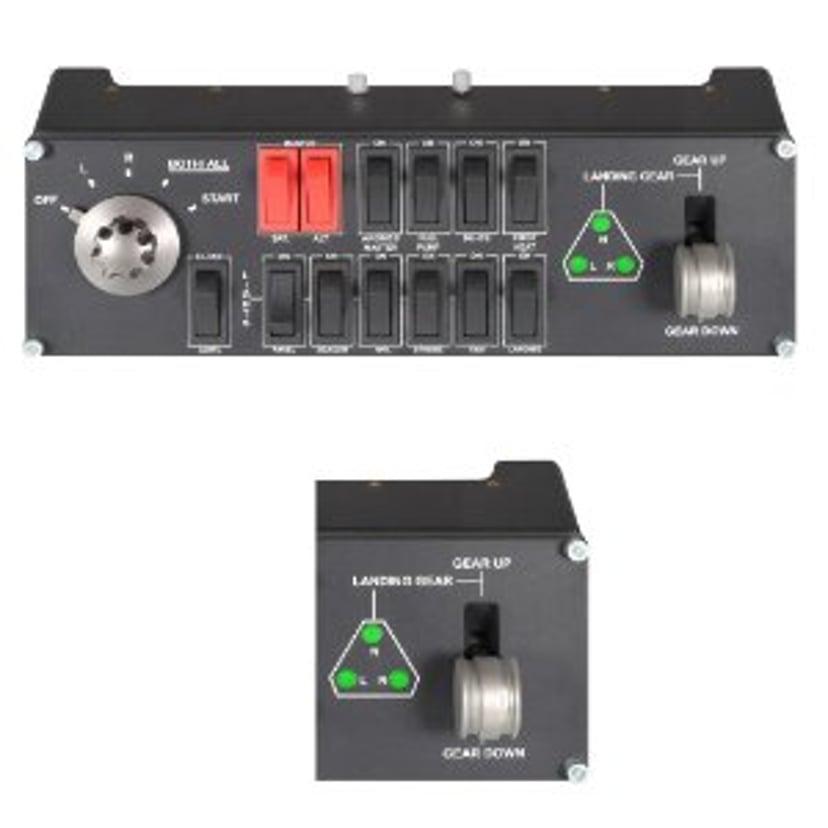 Logitech Pro Flight Switch Panel Svart