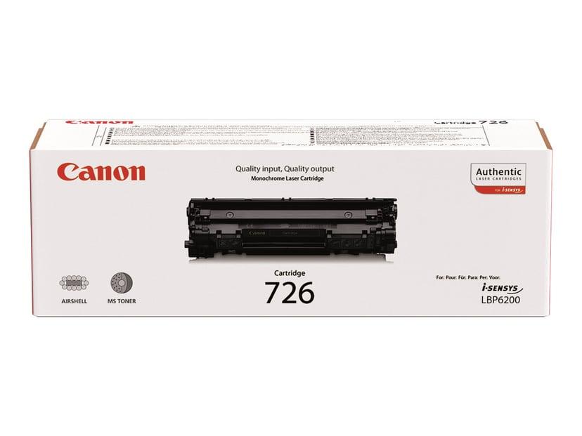 Canon Toner Svart 726, 2.1k - LBP-6200D